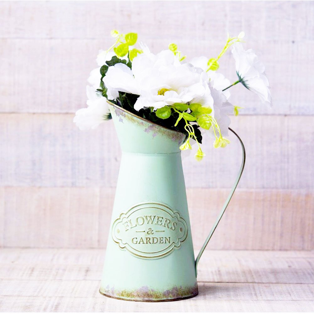 farmhouse watering can flower vase pitcher